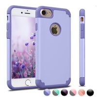iPhone 8 Case Cover, 2017 iPhone 8 Case, Njjex Shock Absorbing Hard Slim Thin Cute Cover [Scratch Proof] Plastic Case Cover For iPhone 8(4.7 inch)2017 - Lavender
