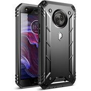 Moto X4 Rugged Case, Poetic Revolution [360 Degree Protection] Full-Body Rugged