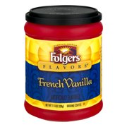 Folgers Flavors French Vanilla Ground Coffee, 11.5 oz