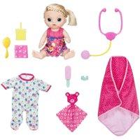 Baby Alive Sweet Tears Baby - Exclusive Bundle Pack - Blonde Hair