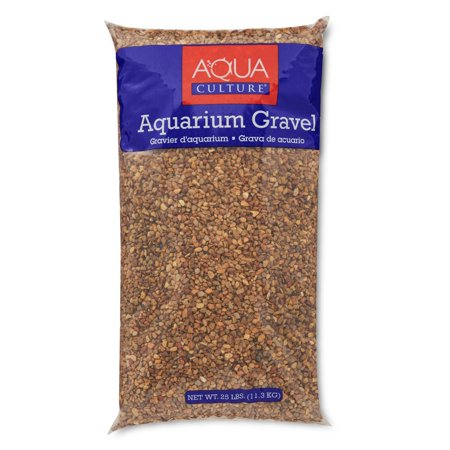 Large Gravel - Aqua Culture Aquarium Gravel Mix, Mountain Jewels, 25 lb