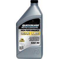 Mercury 92-858064K01 Marine SAE 90 High Performance Gear Lube, 1 quart