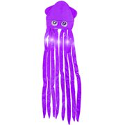 9e61abf963e90 Novelty Purple Lite Up Squid With Long Tentacles Party Hat Cap Costume  Accessory