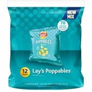 Lay's Poppables Sea Salt Potato Bite Snacks, 0.5 Oz., 12 Oz.