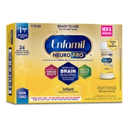 Enfamil Infant NeuroPro Baby Formula, 2 fl oz Ready to Use Liquid (24 Bottles)