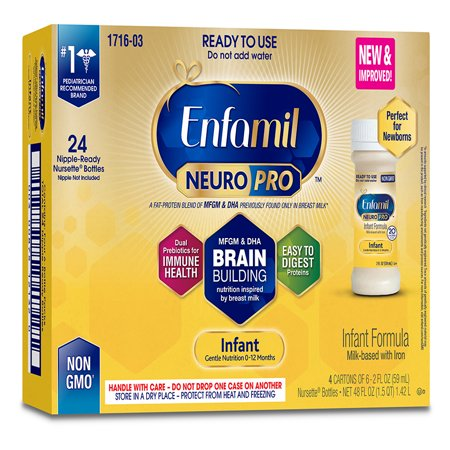 Enfamil Infant Neuropro Baby Formula 2 Fl Oz Ready To Use