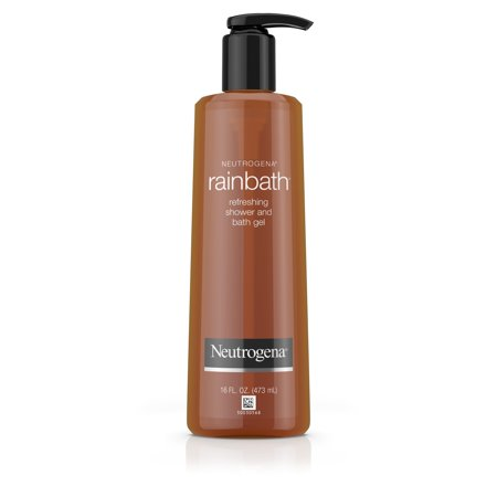 Shower Gel Wash (Neutrogena Rainbath Refreshing and Cleansing Shower and Bath Gel, Moisturizing Body Wash and Shaving Gel with Clean Rinsing Lather, Original Scent, 16 fl.)