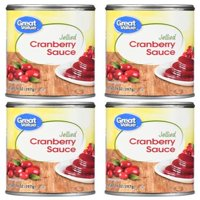 (3 pack) Great Value Jellied Cranberry Sauce, 14 oz