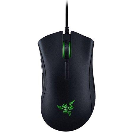 Razer DeathAdder Elite: True 16,000 5G Optical Sensor - Razer Mechanical Mouse Switches (Up to 50 Million Clicks) - Ergonomic Form Factor - Esports Gaming