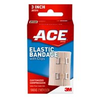 ACE Brand Elastic Bandage w/ clips, 3 in