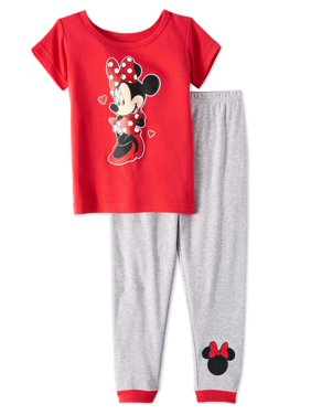 af85c63bfa0f Product Image Minnie Mouse Baby Toddler Girls  Short Sleeve Tight Fit  Pajamas