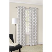 Mainstays Calix Fashion Window Curtain Panel, Set of 2