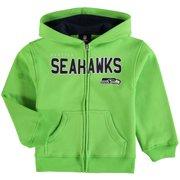 Seattle Seahawks Preschool Fan Gear Stated Full-Zip Hoodie - Neon Green - 7 82b6b2ad9