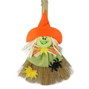 Halloween Hanging Decoration, Justdolife Creative Scarecrow Broom Bar House Decor Hanging Ornament Halloween Party Prop