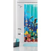 Mainstays Coral Reef Shower Curtain
