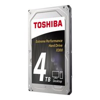 Toshiba X300 4TB Performance & Gaming Internal Hard Drive 7200 RPM SATA 6Gb/s 128 MB Cache 3.5 inch - HDWE140XZSTA