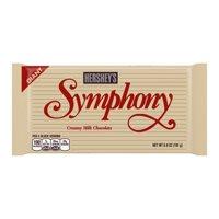 (2 Pack) Hershey's, Symphony Giant Milk Chocolate Bar, 6.8 Oz