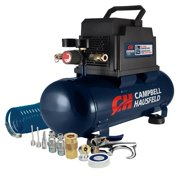 Campbell Hausfeld 3-Gallon Inflation and Fastening Compressor with Accessory Kit DC030098