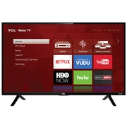 TCL 32S301 32-inch 720p 60Hz Roku Smart LED TV (Certified Refurbished)