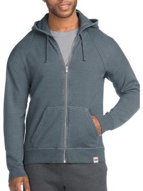 Hanes Men's 1901 Heritage Fleece Full Zip Hoodie