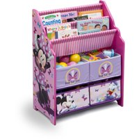 Disney Minnie Mouse Book & Toy Organizer by Delta Children