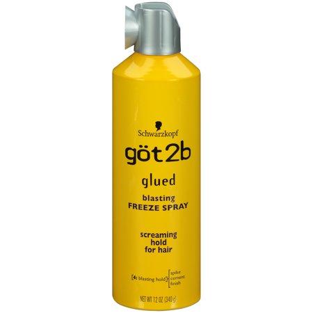 Got2b Glued Blasting Freeze Hairspray, 12 Ounce (Best Hot Iron Spray)