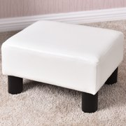 Admirable White Ottomans Andrewgaddart Wooden Chair Designs For Living Room Andrewgaddartcom