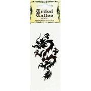 829f54b17f677 Temporary Dragon Tattoo Body Tribal Tattoo (Dragons Fire)