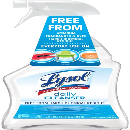 Lysol All Purpose Cleaner, Daily Cleanser Spray, 22oz