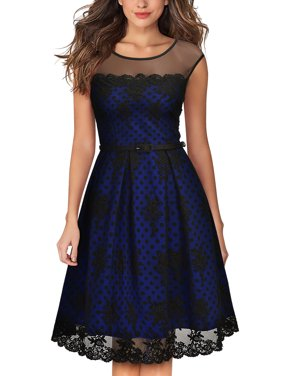 MIUSOL Women's Vintage Evening Cocktail Party Dresses for Women