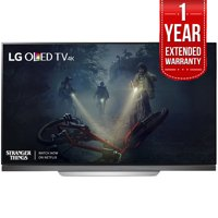 "LG 65"" E7 OLED 4K HDR Smart TV 2017 Model (OLED65E7P) with Additional 1 Year Extended Warranty"