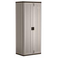 Suncast Tall Resin Storage Cabinet, BMC7200