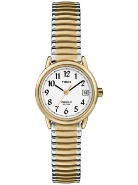 Women's Easy Reader Watch, Two-Tone Stainless Steel Expansion Band