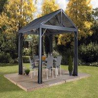 Sojag SANIBEL I 10x10 Gazebo, galvanised steel roof & mosquito netting