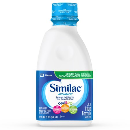 Rice Dry Formula (Similac Advance Infant Formula with Iron Baby Formula 32 fl oz Bottle)