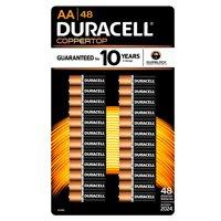 Duracell AA Alkaline Batteries, 48 Ct
