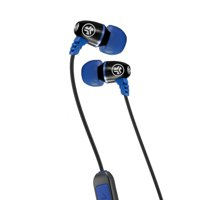 JLab Audio Metal Bluetooth Wireless Rugged Earbuds - Black / Blue - Titanium 8mm Drivers 6 Hour Battery Life Bluetooth 4.1 IP55 Sweat Proof Rating Extra Gel Tips and Cush Fins