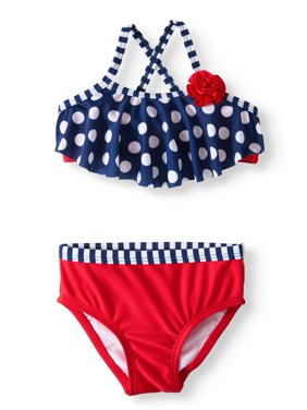 Polka Dot Bikini Swimsuit (Baby Girls)