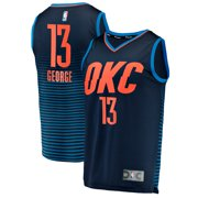 a858df74bf9 Paul George Oklahoma City Thunder Fanatics Branded Fast Break Replica  Player Jersey - Statement Edition -