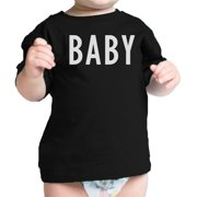 c2a1142d7 Daddy Mama Baby Matching Clothes Funny Family Black T-Shirt Gift Ideas