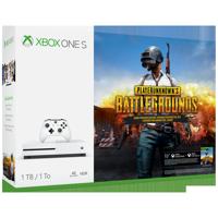 Microsoft Xbox One S 1TB PLAYERUNKNOWN'S BATTLEGROUNDS Bundle, White, 234-00301