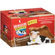 Horizon Organic Low-Fat Chocolate Milk, 8 Fl. Oz., 12 Count
