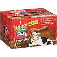 Horizon Organic Chocolate Lowfat Milk, 8 fl oz, 12 Ct