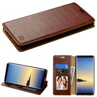 For Samsung Galaxy Note 8 MyJacket Flip Stylish Leather Wallet Phone Case Cover