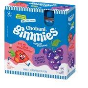 Chobani Kids, Grape/Strawberry Low-Fat Greek Yogurt, 3.5 oz Pouch, 4 Pouch Pack