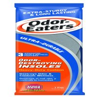 Odor Eaters Ultra Durable Odor-Destroying Shoe Insoles, 1 Pair