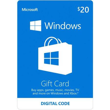Microsoft Windows Store Gift Card $20 (Digital Code) - Dance Up Gift Code