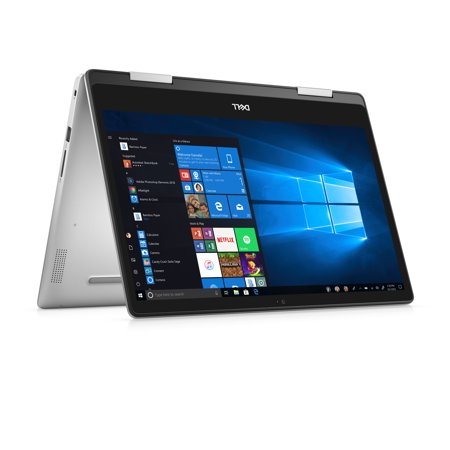 "Dell Inspiron 14 5482 2-in-1 Laptop, 14"", Intel Core i5-8265U, 8GB RAM, 256 GB SSD, Intel UHD Graphics 620, i5482-5182SLV-PUS"