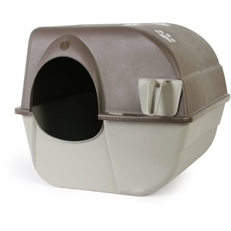 Omega Paw Roll 'N Clean Cat Litter Box, Large (Omega Roll And Clean Litter Box Review)
