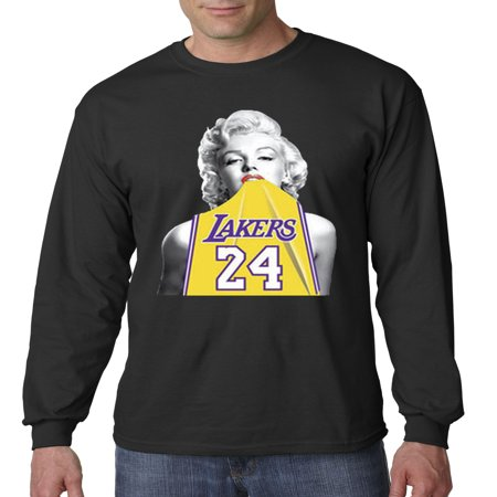 Kobe Bryant Usa Basketball Jersey - Trendy USA 412 - Unisex Long-Sleeve T-Shirt Marilyn Monroe Lakers 24 Kobe Bryant Jersey Small Black